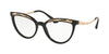 Bvlgari BV4165 Cat Eye Eyeglasses  501-BLACK 53-18-140 - Color Map black