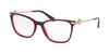 Bvlgari BV4169 Cat Eye Eyeglasses  5426-TOP MARC ON VIOLET 54-17-140 - Color Map violet