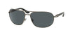 Bvlgari BV5028 Irregular Sunglasses  103/81-GUNMETAL 64-15-125 - Color Map gunmetal