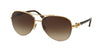 Bvlgari BV6068K Pilot Sunglasses  393/3B-GOLD PLATED 59-16-135 - Color Map gold