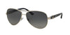 Bvlgari BV6080B Pilot Sunglasses  102/T3-SILVER 59-13-135 - Color Map silver