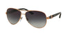 Bvlgari BV6080B Pilot Sunglasses  376/8G-PINK GOLD 59-13-135 - Color Map gold