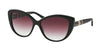 Bvlgari BV8151B Cat Eye Sunglasses  501/8H-BLACK 57-15-140 - Color Map black