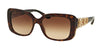 Bvlgari BV8167B Rectangle Sunglasses  504/13-HAVANA 55-17-135 - Color Map havana
