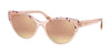 Bvlgari BV8209F Cat Eye Sunglasses  54624Z-GOLD/VIOLET/ON PINK TRANSP 56-18-140 - Color Map pink
