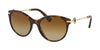 Bvlgari BV8210BF Oval Sunglasses  504/T5-DARK HAVANA 55-19-140 - Color Map havana