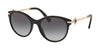 Bvlgari BV8210B Cat Eye Sunglasses  501/8G-BLACK 55-19-140 - Color Map black