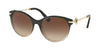 Bvlgari BV8210B Cat Eye Sunglasses  545013-BLACK GRADIENT BEIGE 55-19-140 - Color Map black