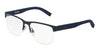 DOLCE & GABBANA DG1272 Square Eyeglasses  1273-BLUE RUBBER 53-18-145 - Color Map blue