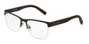 DOLCE & GABBANA DG1272 Square Eyeglasses  1274-BROWN RUBBER 53-18-145 - Color Map brown