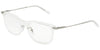 DOLCE & GABBANA DG1293 Rectangle Eyeglasses  04-CLEAR 53-19-145 - Color Map clear