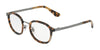 DOLCE & GABBANA DG1296 Phantos Eyeglasses  3141-BLUE HAVANA 48-22-140 - Color Map blue