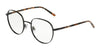 DOLCE & GABBANA DG1304 Round Eyeglasses  01-BLACK 52-20-140 - Color Map black