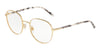 DOLCE & GABBANA DG1304 Round Eyeglasses  02-GOLD 52-20-140 - Color Map gold