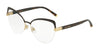 DOLCE & GABBANA DG1305 Cat Eye Eyeglasses  1315-MATTE BROWN 55-16-140 - Color Map brown