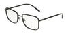 DOLCE & GABBANA DG1306 Rectangle Eyeglasses  1106-MATTE BLACK 56-18-140 - Color Map black