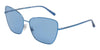 DOLCE & GABBANA DG2208 Cat Eye Sunglasses  132480-BLUE 62-16-140 - Color Map blue