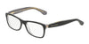 DOLCE & GABBANA DG3231 Rectangle Eyeglasses  3080-BLACK/PRINT PIED DE POULE 48-15-130 - Color Map black