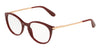 DOLCE & GABBANA DG3242 Phantos Eyeglasses  3091-BORDEAUX 50-18-145 - Color Map black