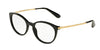 DOLCE & GABBANA DG3242 Phantos Eyeglasses  501-BLACK 50-18-145 - Color Map black