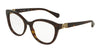DOLCE & GABBANA DG3250 Cat Eye Eyeglasses  502-DARK HAVANA 52-18-135 - Color Map havana