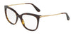 DOLCE & GABBANA DG3259 Square Eyeglasses  502-HAVANA 53-17-140 - Color Map havana