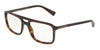 DOLCE & GABBANA DG3267F Rectangle Eyeglasses  502-HAVANA 54-18-145 - Color Map havana