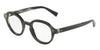 DOLCE & GABBANA DG3271 Irregular Eyeglasses  3117-STRIPED BLUE 47-23-145 - Color Map blue