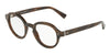 DOLCE & GABBANA DG3271 Round Eyeglasses  3118-STRIPED BORDEAUX 47-23-145 - Color Map bordeaux