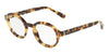 DOLCE & GABBANA DG3271 Irregular Eyeglasses  512-LIGHT HAVANA 47-23-145 - Color Map havana