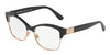 DOLCE & GABBANA DG3272 Pillow Eyeglasses  501-BLACK 52-17-140 - Color Map black