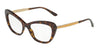 DOLCE & GABBANA DG3275B Cat Eye Eyeglasses  502-HAVANA 52-17-140 - Color Map havana