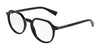 DOLCE & GABBANA DG3297 Irregular Eyeglasses  501-BLACK 50-20-140 - Color Map black