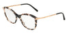 DOLCE & GABBANA DG3299 Square Eyeglasses  3120-PEARL GREY HAVANA 53-17-140 - Color Map havana