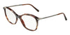 DOLCE & GABBANA DG3299 Square Eyeglasses  3193-HAVANA PEARL GREEN/BROWN 53-17-140 - Color Map brown