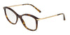 DOLCE & GABBANA DG3299 Square Eyeglasses  502-HAVANA 53-17-140 - Color Map havana