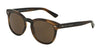 DOLCE & GABBANA DG4254 Phantos Sunglasses  296473-STRIPED MATTE TOBACCO 51-20-145 - Color Map brown
