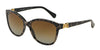 DOLCE & GABBANA DG4258 Square Sunglasses  1995T5-LEO ON BLACK 56-17-140 - Color Map black