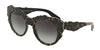 DOLCE & GABBANA DG4267 Round Sunglasses  29988G-TOP BLACK/TEXTURE TISSUE 53-20-140 - Color Map black