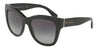 DOLCE & GABBANA DG4270 Square Sunglasses  501/8G-BLACK 55-19-140 - Color Map black