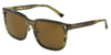 DOLCE & GABBANA DG4271 Square Sunglasses  292673-STRIPED OLIVE GREEN 56-19-140 - Color Map green