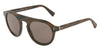 DOLCE & GABBANA DG4306 Round Sunglasses  31184R-STRIPED BORDEAUX 50-23-145 - Color Map bordeaux