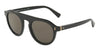 DOLCE & GABBANA DG4306 Round Sunglasses  501/R5-BLACK 50-23-145 - Color Map black