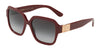 DOLCE & GABBANA DG4336 Square Sunglasses  30918G-BORDEAUX 56-18-145 - Color Map bordeaux