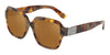 DOLCE & GABBANA DG4336 Square Sunglasses  31706H-HAVANA PEARL GOLD 56-18-145 - Color Map gold