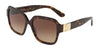 DOLCE & GABBANA DG4336 Square Sunglasses  502/13-HAVANA 56-18-145 - Color Map havana
