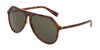 DOLCE & GABBANA DG4341 Pilot Sunglasses  322282-DARK RED HAVANA 59-13-140 - Color Map havana