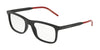 DOLCE & GABBANA DG5030 Rectangle Eyeglasses  2525-MATTE BLACK 55-20-145 - Color Map black