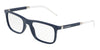 DOLCE & GABBANA DG5030 Rectangle Eyeglasses  3094-MATTE BLUE 55-20-145 - Color Map blue