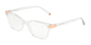 DOLCE & GABBANA DG5036 Butterfly Eyeglasses  3133-CRYSTAL 53-17-140 - Color Map crystal